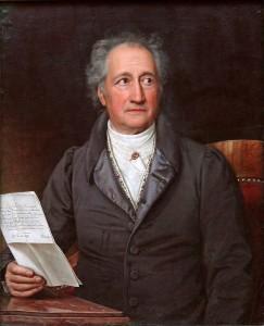 Dem Rotwein auch nicht abhold: Meister Goethe (Foto von Wikipedia)