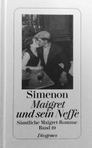 Georges Simenon MAIGRET UND SEIN NEFFE, erschienen bei Diogenes