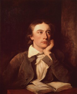 John Keats, 1795-1821, Portrait von William Hilton (Foto von www.de.wikipedia.org)