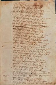 Shakespeares Handschrift? Seite aus dem Manuskript von SIR THOMAS MORE (Foto: www.en.wikipedia.org)