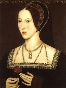 Die Neue: Anne Boleyn, Heinrichs zweite, aber nicht letzte, Frau (Bild von www.en.wikipedia.org)
