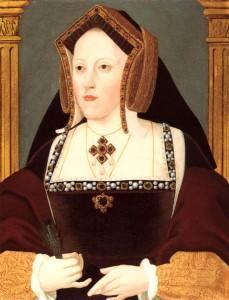 Die Alte: Katharina von Aragon, Heinrichs erste Frau (Bild von www.en.wikipedia.org)
