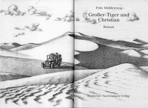 Nicht von Mühlenweg, aber trotzdem hübsch: Zeichnung von Dieter Wiesmüller
