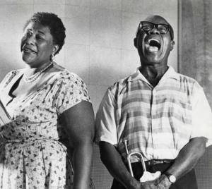 Die waren aber auch der Hammer: Ella Fitzgerald und Louis Armstrong (Bild von pixshark.com)