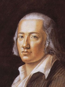 Er hat das letzte Wort: Friedrich Hölderlin (Bild von www.de.wikipedia.org)