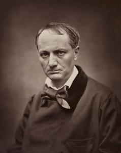 """Sieht ein bisschen wie ein Warnhinweis auf dem Buchumschlag aus: """"Essen Sie keine unbekannten bösen Blumen, sonst sehen Sie so aus."""" Ich liebe dieses Porträt von Baudelaire (Bild von www.de.wikipedia.org)"""