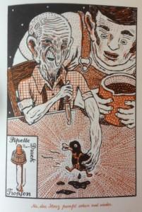 """Erweckt Tote zum Leben: Der """"Old Death"""" Whisky von Opa Jake (Illustration: Atak)"""