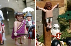Aus der Playmobil-Bibel von Markus Bomhard (Bild von www.examiner.com)