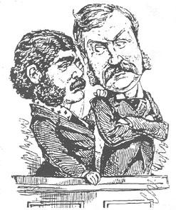 Sie waren sich nicht immer einig, aber zusammen am Erfolgreichsten: Gilbert und Sullivan (Bild von http://g-and-s.org)