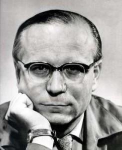 Ein Blick wie ein Skalpell: Wolfgang Koeppen in den 50ern. Sein Roman TAUBEN IM GRAS erschien 1951. (Bild von www.wolfgang-koeppen-stiftung.de)