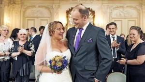 """Gut, Sat 1 hat da wahrscheinlich irgendwas falsch verstanden, aber im Grunde ist ROMEO UND JULIA genau das: """"Hochzeit auf den ersten Blick"""". Und es zeigt sich: Sowas geht nie gut aus. (Bild von www.bilder.bild.de)"""