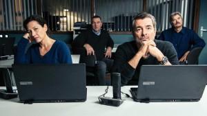 Standen bei diesem Tatort etwas im Hintergrund und machten dennoch eine gute Figur: Delia Mayer als Liz Ritschard und Stefan Gubser als Reto Flückiger (Bild von www.daserste.de)