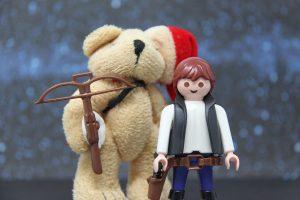 Chewbacca ;-) und Han Solo