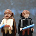 Obi Wan Kenobi und Anakin Skywalker