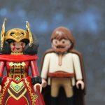 Königin Amidala und Obi Wan Kenobi