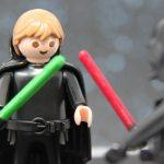 Luke im Kampf mit Darth Vader II