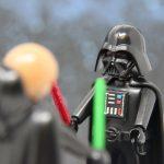 Luke im Kampf mit Darth Vader I
