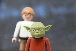 Luke und Meister Yoda